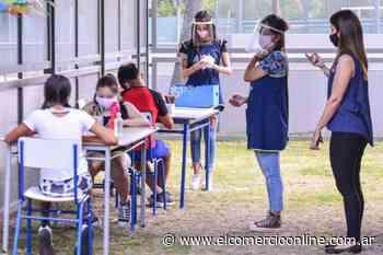 Los CEIM de San Fernando volvieron a las clases con protocolos, grupos reducidos y al aire libre - elcomercioonline.com.ar