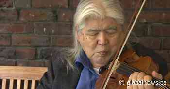 Paramedics help Victoria senior make sweet music with donated bow