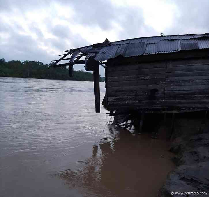 Cerca de 2.800 familias afectadas por las lluvias en Vigía del Fuerte, Antioquia - RCN Radio