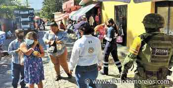 Recorre Convoy Unidos por Morelos tianguis y plazas de Cuernavaca y Jojutla - Diario de Morelos