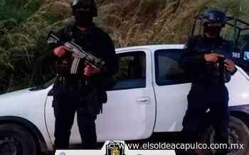 Aseguran vehículo con presunta droga en Ometepec - El Sol de Acapulco