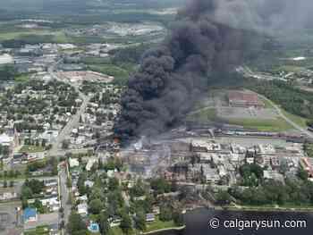 Lac-Megantic marks anniversary of 2013 rail disaster with memorial site - Calgary Sun