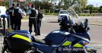 Saint-Chamas : il double et fait face aux motards de la gendarmerie - La Provence