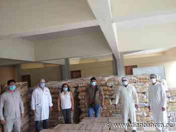 Municipalidad de Uchiza recibe 57 tons alimentos - DIARIO AHORA