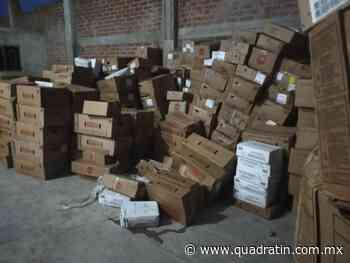 Recuperan carne robada en Uruapan - Quadratín - Quadratín Michoacán