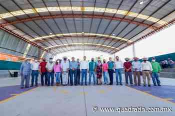Entregó Miguel Paredes obras en El Sabino y San Marcos, en Uruapan - Quadratín - Quadratín Michoacán