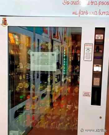 Lamezia Terme – Sequestrato distributore automatico che erogava alcolici e bevande dopo la mezzanotte - Strill.it