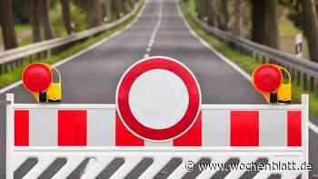 Auch für Anlieger: Kreisstraße SR28 zwischen Falkenfels und Geßmannszell von 2. bis 25. Juni gesperrt - Wochenblatt.de