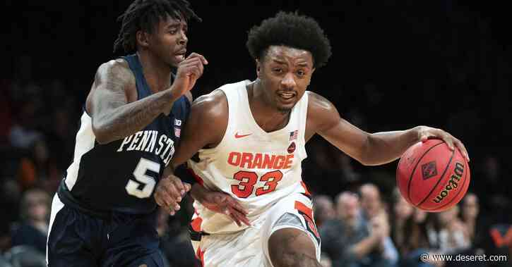 Utah Jazz reportedly acquire Syracuse's Elijah Hughes from New Orleans Pelicans