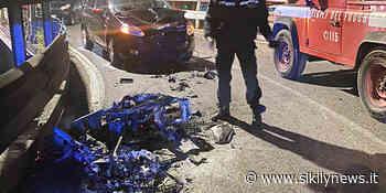 Taormina, denunciato il centauro che si è scontrato su un'auto: era alla guida ubriaco - Sikily News