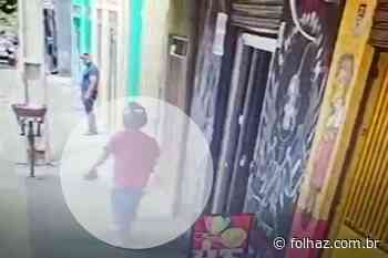 Câmera flagra autores de homicídio em estúdio de tatuagem em Aparecida - Folha Z