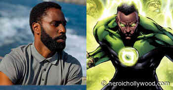See 'Tenet' Star John David Washington Transform Into Green Lantern - Heroic Hollywood