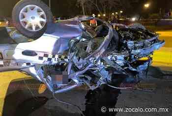 Mueren dos tras brutal accidente de taxi en Nueva Rosita - Periódico Zócalo