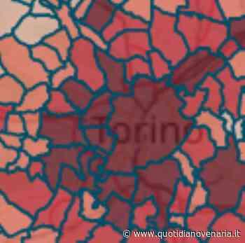 MAPPA CORONAVIRUS - Venaria 608, Alpignano 247, Pianezza 371, Rivoli 772, Collegno 762 - QV QuotidianoVenariese