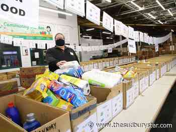 Edgar Burton food drive in Sudbury adapts to the pandemic