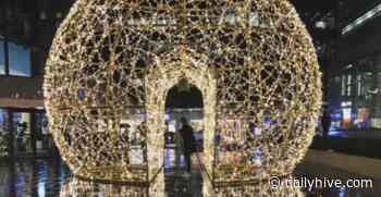 An enchanting light dome is shining bright for the holidays in Vancouver | Listed - Daily Hive