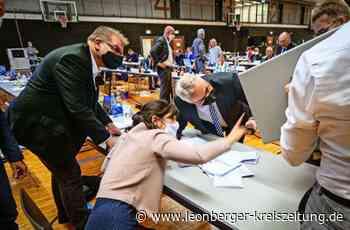 Beigeordnetenwahl in Leonberg: Die Sieger verzichten auf Gesten des Triumphes - Leonberg - Leonberger Kreiszeitung