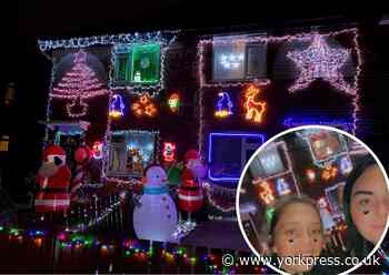 Meet Tracey and Adele - possibly York's most festive neighbours - York Press