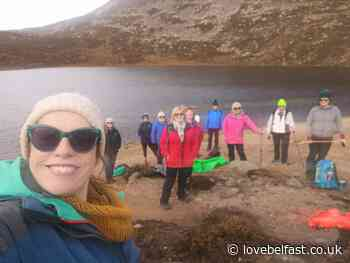 Comber woman completes Mourne Mountains climb in aid of NSPCC Northern Ireland - Love Belfast