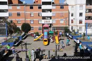 Con recursos de parquímetros rehabilitan unidad habitacional en Apizaco - Megalópolis MX