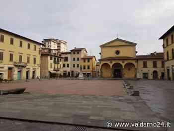 Montevarchi e San Giovanni questa mattina. Strade deserte e pochissime persone in giro - Valdarno24