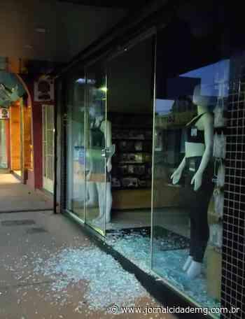 Mais uma loja é furtada em Lagoa da Prata nesta madrugada (17) - Jornal Cidade