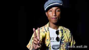 """Pharrell Williams """"Humanrace"""": Drei Minuten mit seiner neuen Pflegelinie sollen reichen - WELT"""