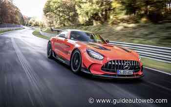 La Mercedes-AMG GT bat le record du Nürburgring
