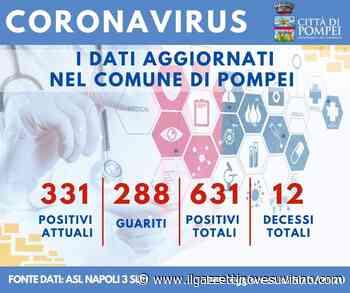 Pompei, 11 nuovi positivi al Coronavirus e 29 guariti - Il Gazzettino Vesuviano