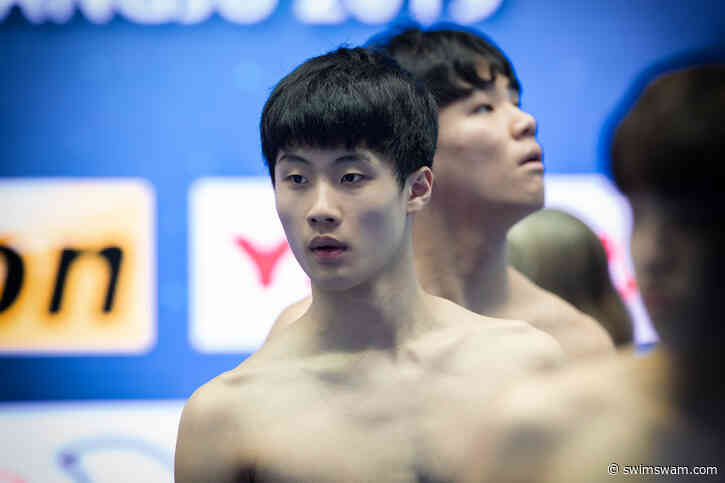 Sun Woo Hwang 17 Anni, Sigla In Corea Il Record Del Mondo Jr 200 Stile