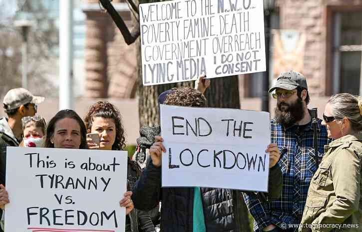 Stop Technocracy: Americans Must Rebel Against Lockdowns, Mandated Masks, Forced Vaccinations