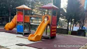 Settecamini, il parco giochi di via Montenero si rifà il look