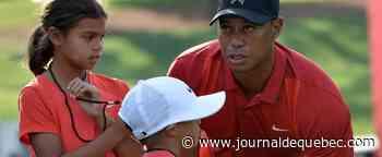 Tiger Woods jouera avec son fils dans un tournoi