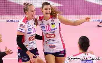 Volley, Serie A1 Femminile 2020/2021: Firenze vince a Busto Arsizio, Novara batte Trento - Sportface.it
