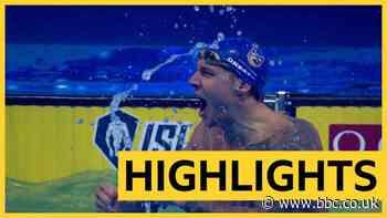 International Swimming League: Caeleb Dressel sets world record in 100m individual medley