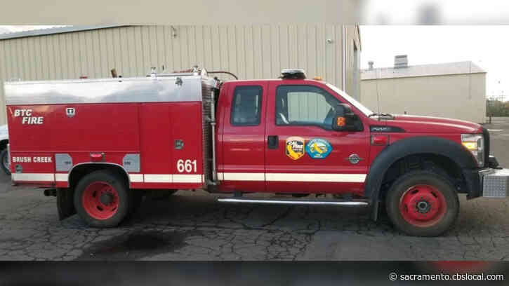 Thief Drives Butte County Fire Engine Through Door, Causing Major Damage To Volunteer Station