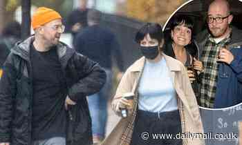Lily Allen enjoys a trip to her local fishmongers with ex Seb Chew... 13 years after their split