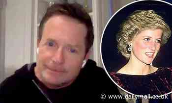Michael J. Fox recalls sitting next to Princess Diana during Back to the Future premiere