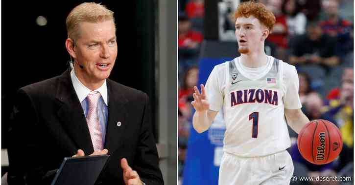 Former Utah Ute Pace Mannion, son Nico share NBA draft-night bond — being selected by Golden State Warriors