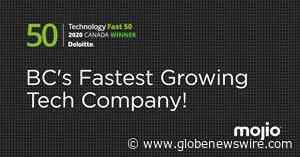 Mojio Named British Columbia's Fastest Growing Company in the 2020 Deloitte Technology Fast 50™ Awards - GlobeNewswire