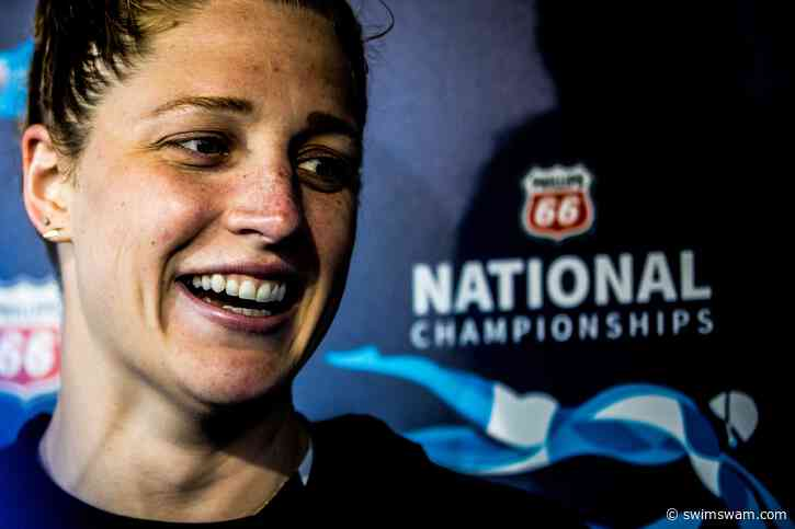 """Madisyn Cox on Training Outside: """"The outdoor pool has been life-changing"""""""