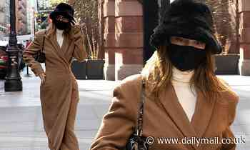 Kendall Jenner puts on a chic display as the supermodel bundles up in NYC