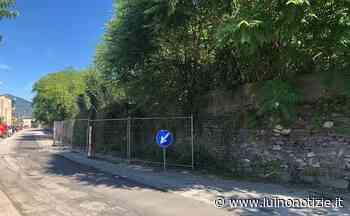 Luino, a breve il via ai lavori per abbattere il muro pericoloso in via Creva - Luino Notizie