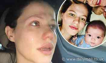 Tammin Sursok talks candidly about the devastating moment she miscarried for the first time