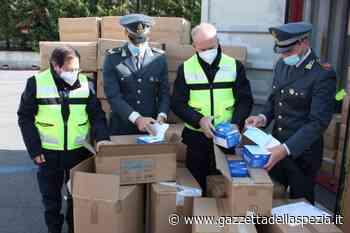 La Spezia, si moltiplicano i sequestri di falso Made in Italy: tra i prodotti anche mascherine (video) - Gazzetta della Spezia e Provincia