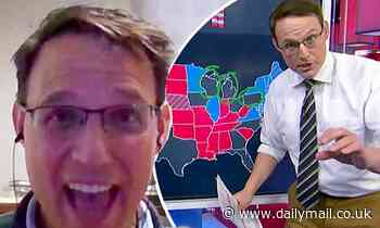 MSNBC's viral map guy Steve Kornacki reveals he was 'taken aback' by election coverage fame