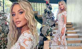 Dorit Kemsley stuns in a sheer dress as RHOBH star announces new endeavor designing wedding dresses
