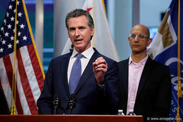 Gov. Newsom announces COVID curfew for California