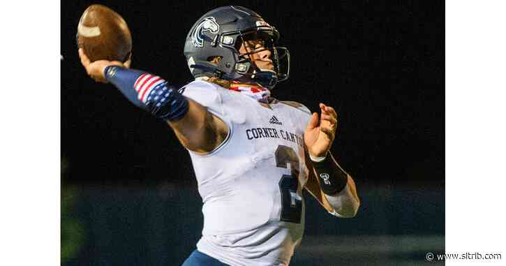 Jaxson Dart is breaking state football records and taking names for the Corner Canyon Chargers