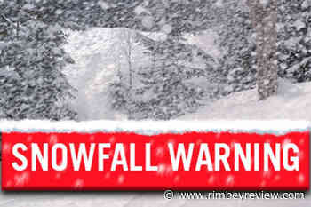 Snowfall warning in effect across Central Alberta - Rimbey Review